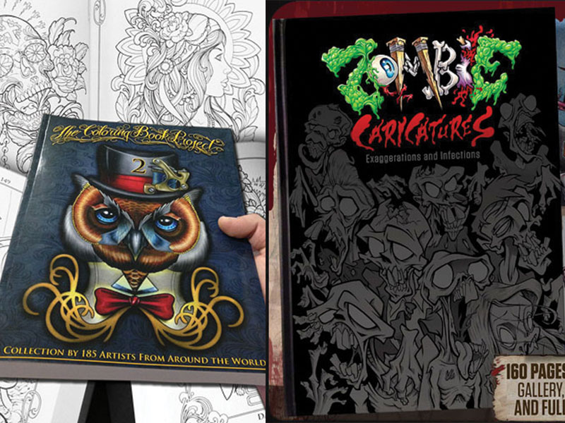 MD Tattoo Studio | Two New Books Available Now! The Coloring Book ...